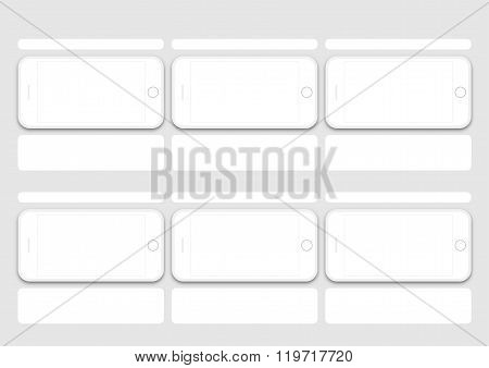 Phone Os Layout Of Presentation Template