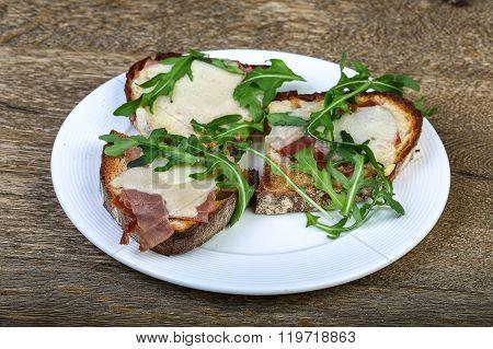 Bruchetta With Prosciutto