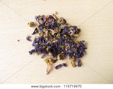 Common mallow flowers, Malvae flos