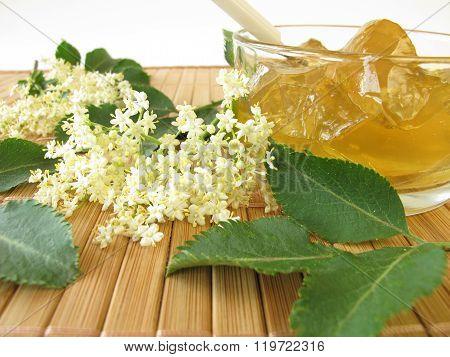 Elderflower jam