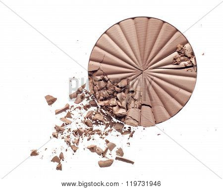 Make up crushed powder