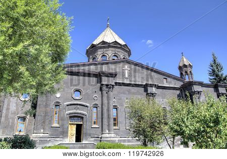 Cathedral of the Holy Mother of God. Gyumri, Armenia