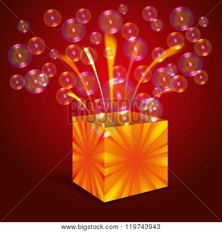 Magic Box With Bubbles