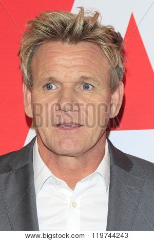 LOS ANGELES - FEB 26:  Gordon Ramsey at the The Film is GREAT Reception Honoring British 2016 Oscar Nominees at the Fig and Olive on February 26, 2016 in West Hollywood, CA