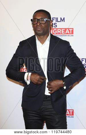LOS ANGELES - FEB 26:  David Harewood at the The Film is GREAT Reception Honoring British 2016 Oscar Nominees at the Fig and Olive on February 26, 2016 in West Hollywood, CA