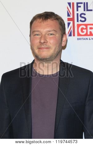 LOS ANGELES - FEB 26:  Eric Dupont at the The Film is GREAT Reception Honoring British 2016 Oscar Nominees at the Fig and Olive on February 26, 2016 in West Hollywood, CA