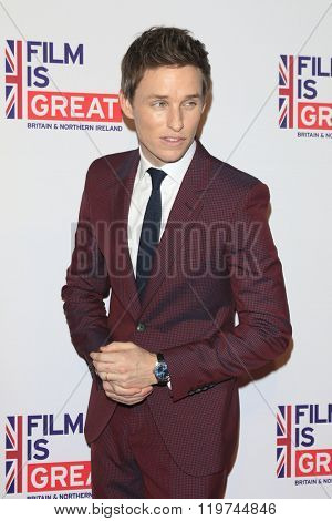 LOS ANGELES - FEB 26:  Eddie Redmayne at the The Film is GREAT Reception Honoring British 2016 Oscar Nominees at the Fig and Olive on February 26, 2016 in West Hollywood, CA