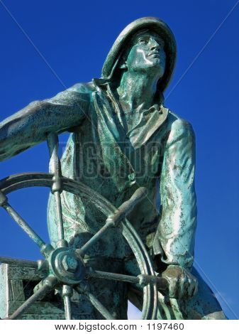 The Man At The Wheel, Gloucester, Ma