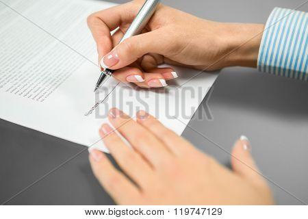 The last signature needed.
