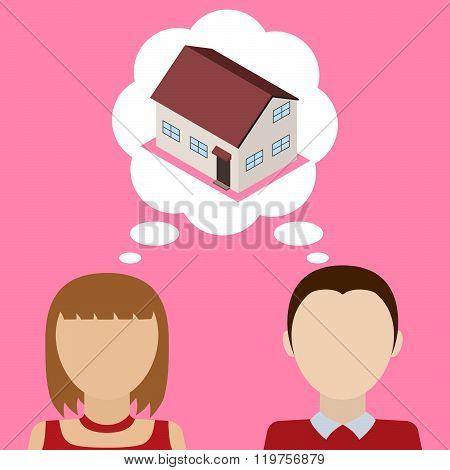 Couple Dreams About House.