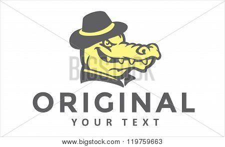 Head Crocodile vintage