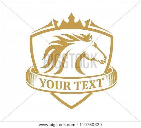 Horse emblem vintage