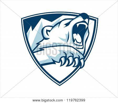 Polar bear emblem