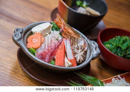 Japanese Style Food Set