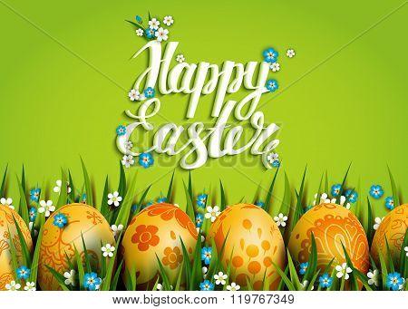 Easter Folk Card