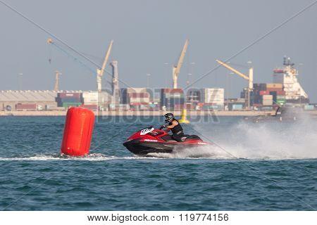 Jet Ski Racing In Doha, Qatar
