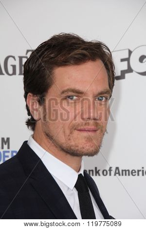 LOS ANGELES - FEB 27:  Michael Shannon at the 2016 Film Independent Spirit Awards at the Santa Monica Beach on February 27, 2016 in Santa Monica, CA