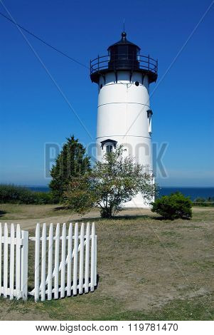 East Chop Lighthouse On Martha's Vineyard