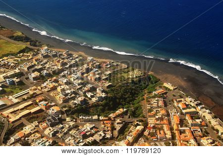Birdseye View Of Sao Filipe