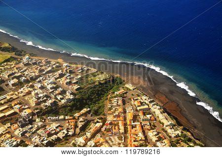 Sao Filipe And Its Black Sand Beach