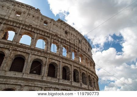 Ancient Colosseum View