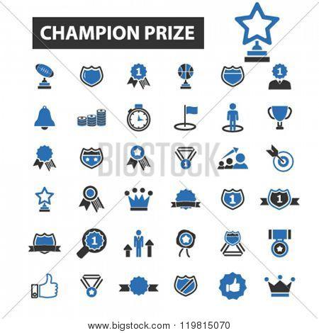 champion prize icons, champion prize logo, champion prize vector, champion prize flat illustration concept, champion prize infographics, champion prize symbols,