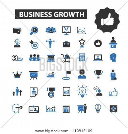 business growth icons, business growth logo, business growth vector, business growth flat illustration concept, business growth infographics, business growth symbols,