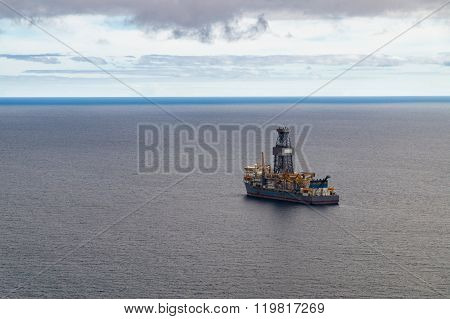 Exploratory Offshore Drilling By Drillship