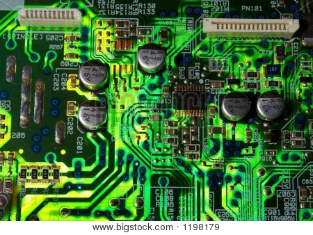 Green Electronic Board