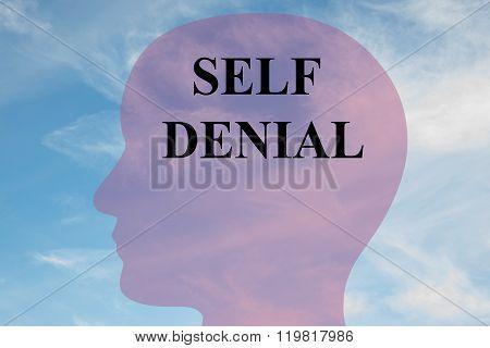 Self Denial Concept