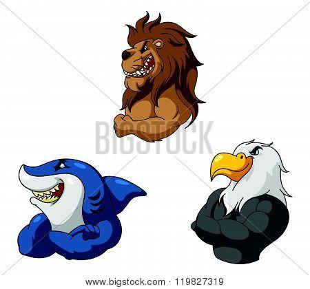 Animal Mascot Set