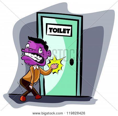man need a pee