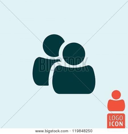 Population Icon Isolated