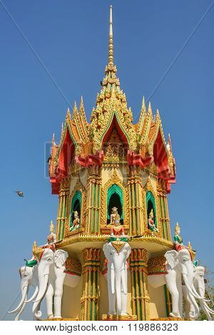 Budhist Temple In Thailand