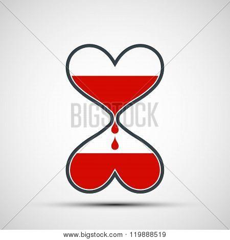 Symbol Of Donation.
