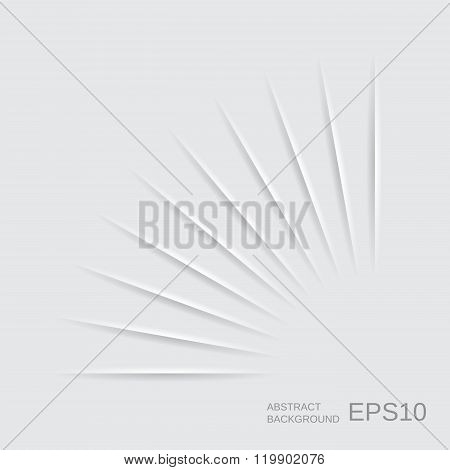 Stock Vector Abstract Paper Background. Paper Shadow.
