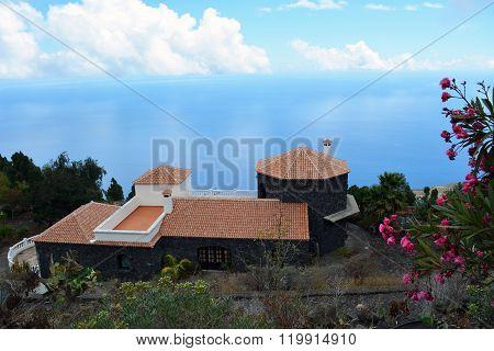Coastline scene from La Palma. Canary Island. Spain.