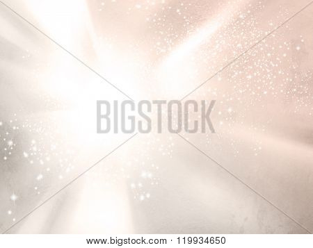 Pink sky in soft watercolors - abstract pale vintage background