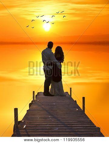 love in the lake