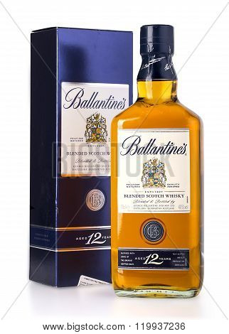 Photo Of A Botle Of Ballantines