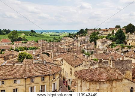 Old Town Of Saint-emilion, France
