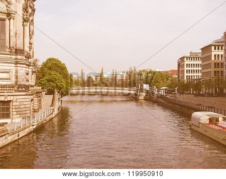 River Spree, Berlin Vintage