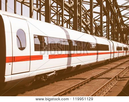 Train Picture Vintage