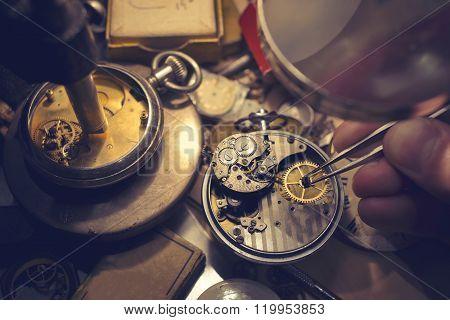 Watchmakers Craftmanship