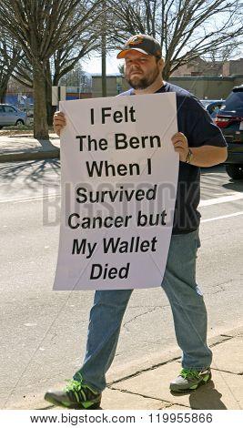 Feeling The Bern In His Wallet