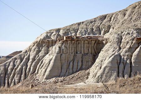 Badlands Alberta Drumheller and Dinasaur Park Canada ** Note: Visible grain at 100%, best at smaller sizes