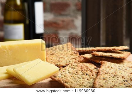 Gourmet Crackers And Cheese