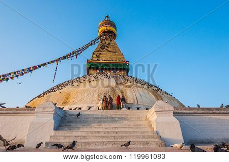 Great stupa Bodnath