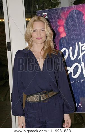 Actress Victoria Pratt at the book signing of her new book,