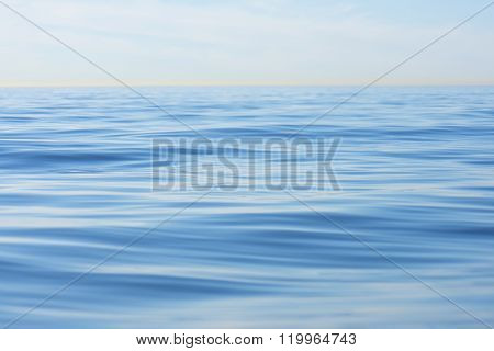 Endless Blue Ocean